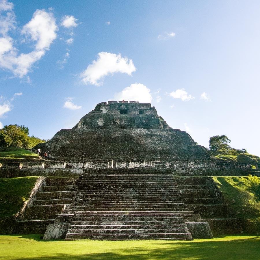 chaa creek and belize gets a whole lotta love xunantunich mayan ruins