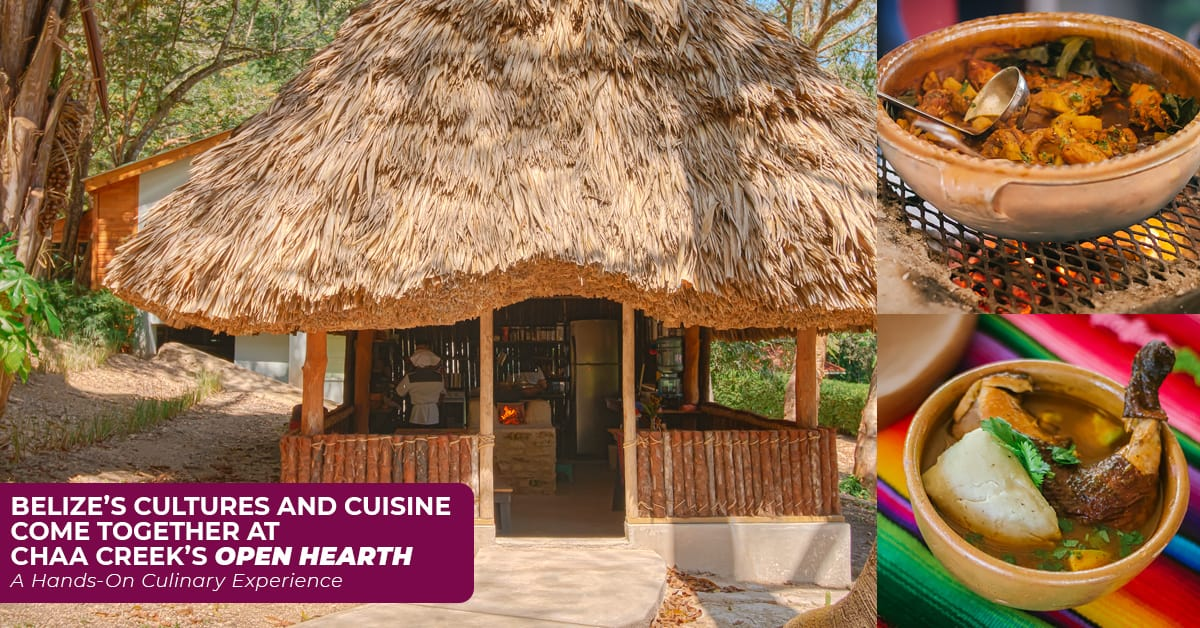 chaa creek opean hearth belize cooking classes featured image