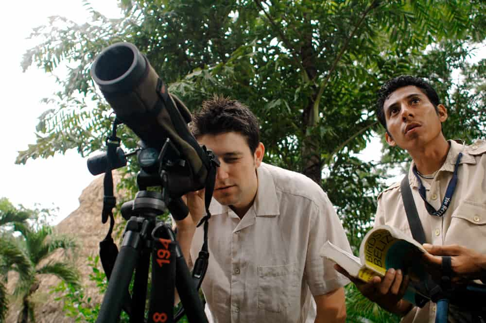 Chaa creek belize birding guide David Juarez