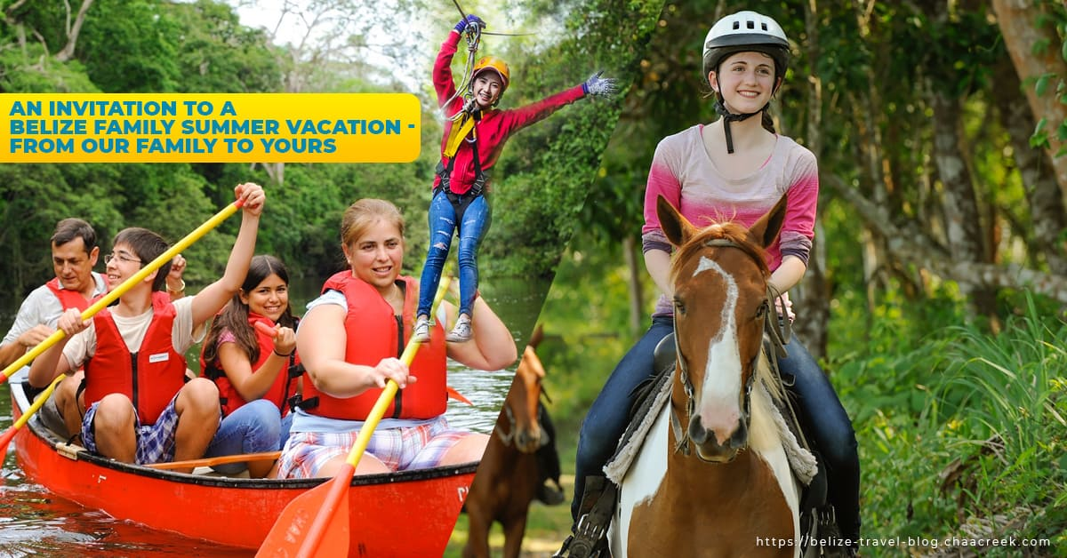 Belize family summer vacation package 2019 at chaa creek