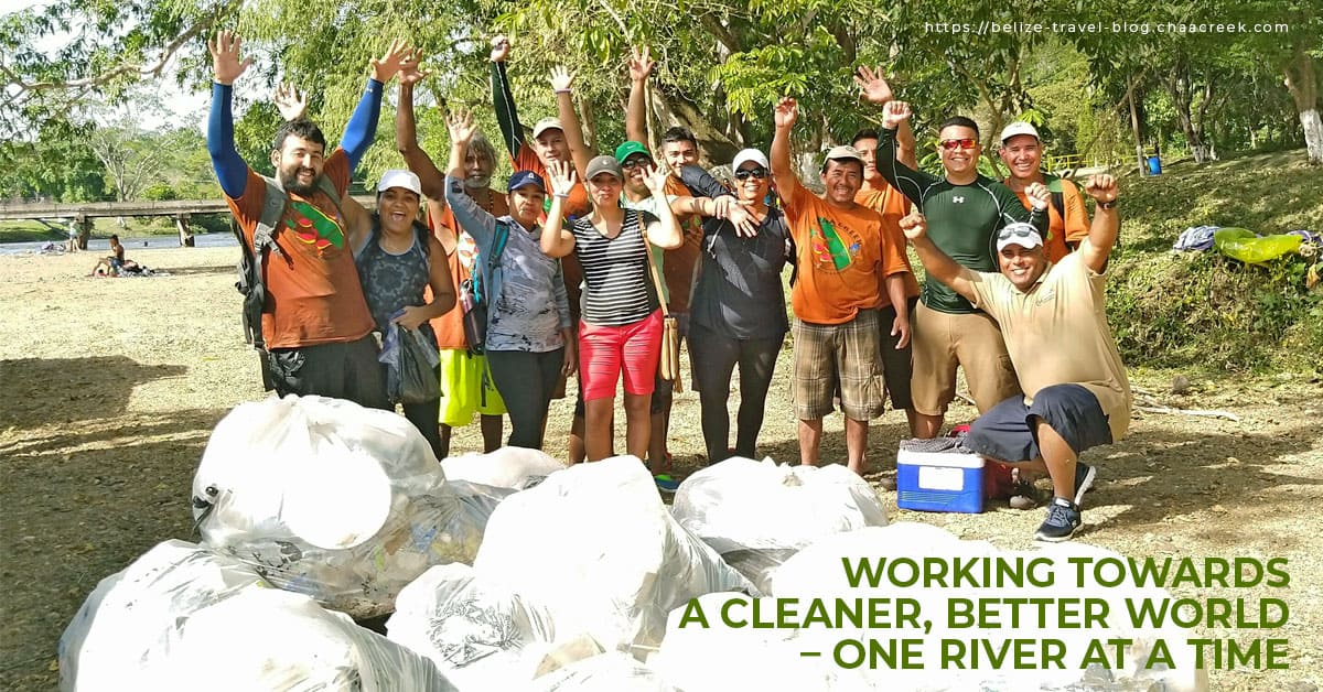belize river cleanup 2019 chaa creek resort header