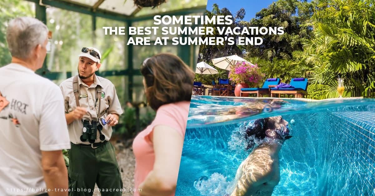 Chaa Creek Belize Summer Travel Deals
