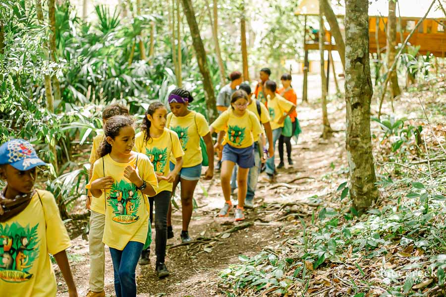 eco kids summer camp 2019 day 3 searching trails