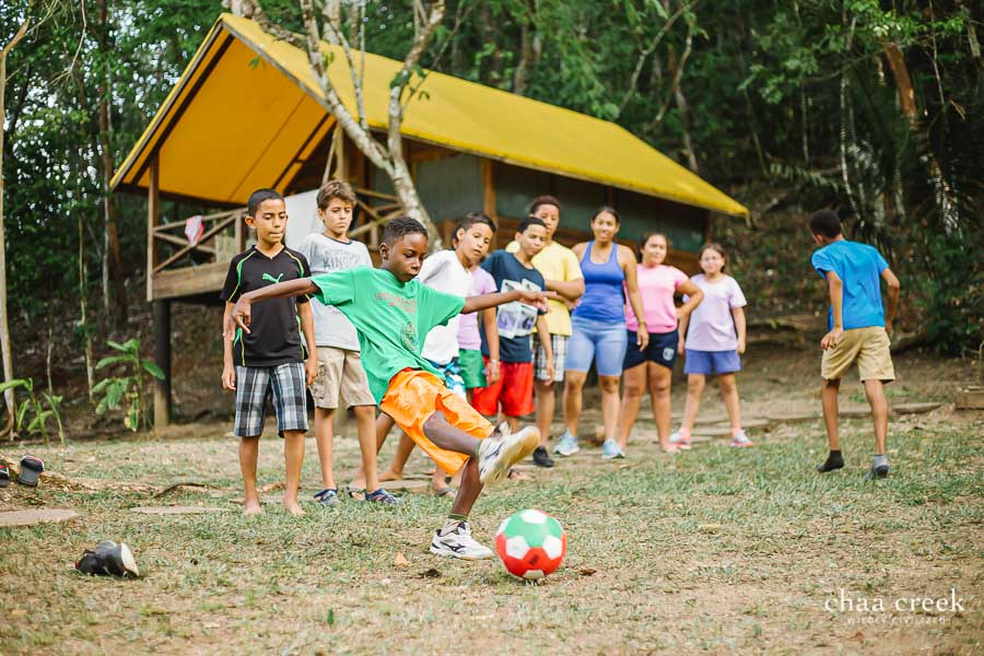 eco kids summer camp 2019 kick ball