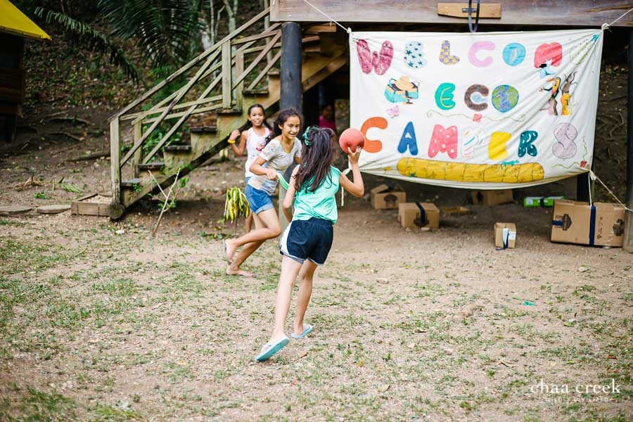 Chaa Creek Eco Kids Day 2 Games