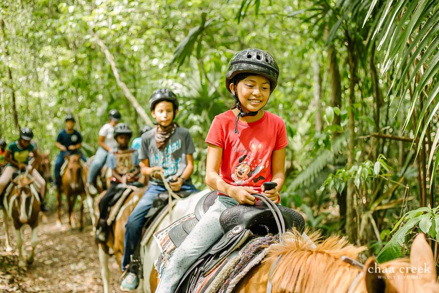 eco kids summer camp 2019 day 4 horseback riding