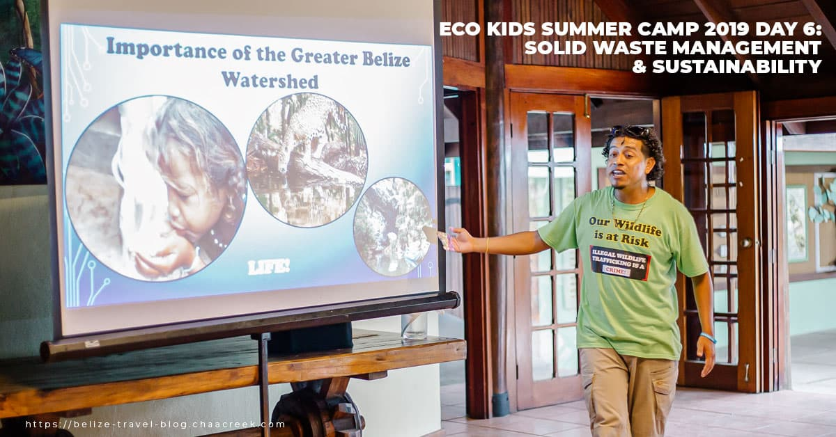 eco kids summer camp 2019 day 6 sustainability hero