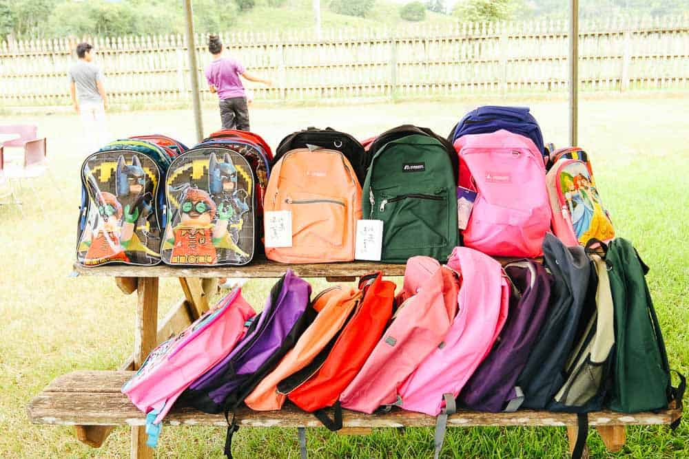 chaa creek corozalito funday school bags photo