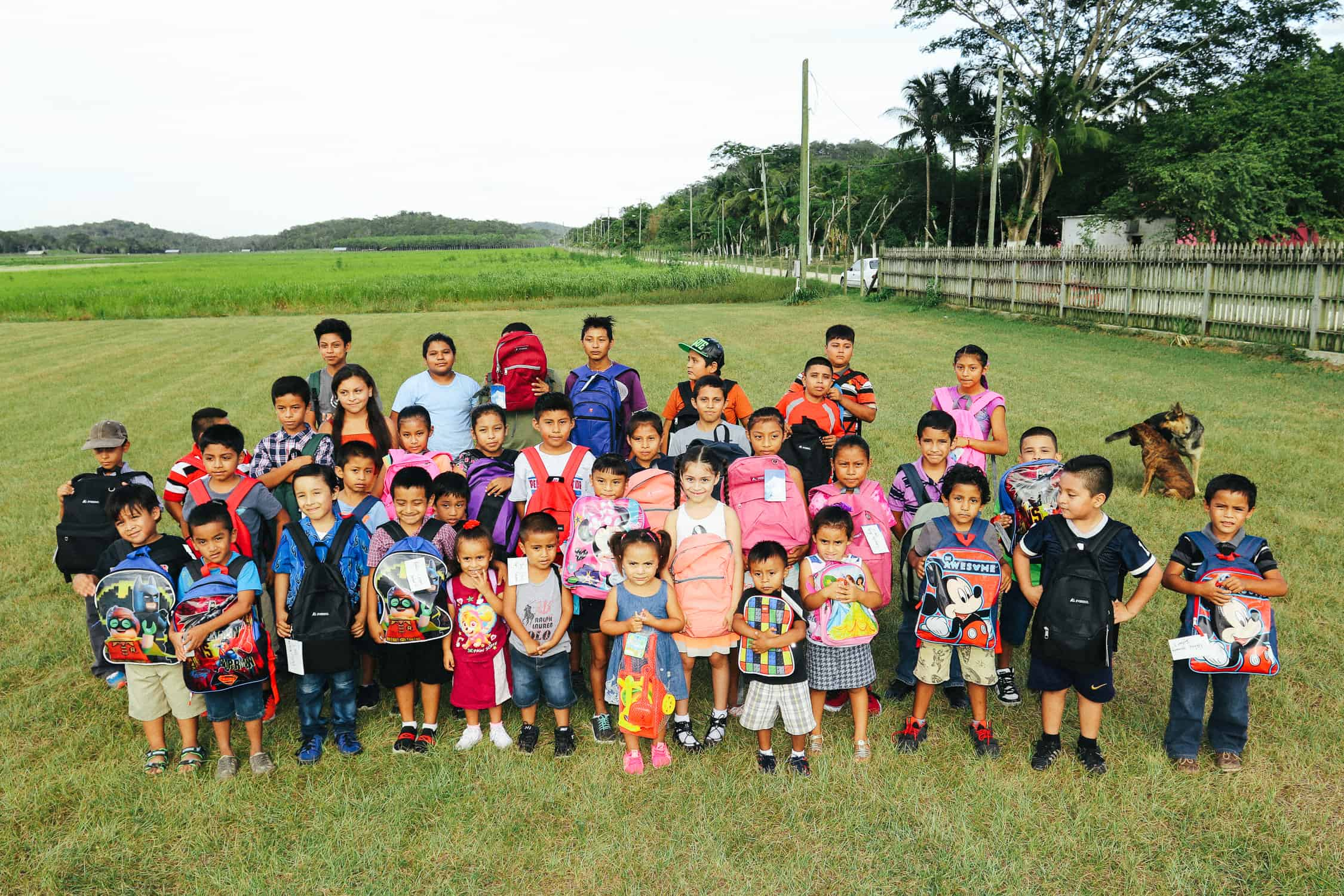 chaa creek corozalito funday group photo