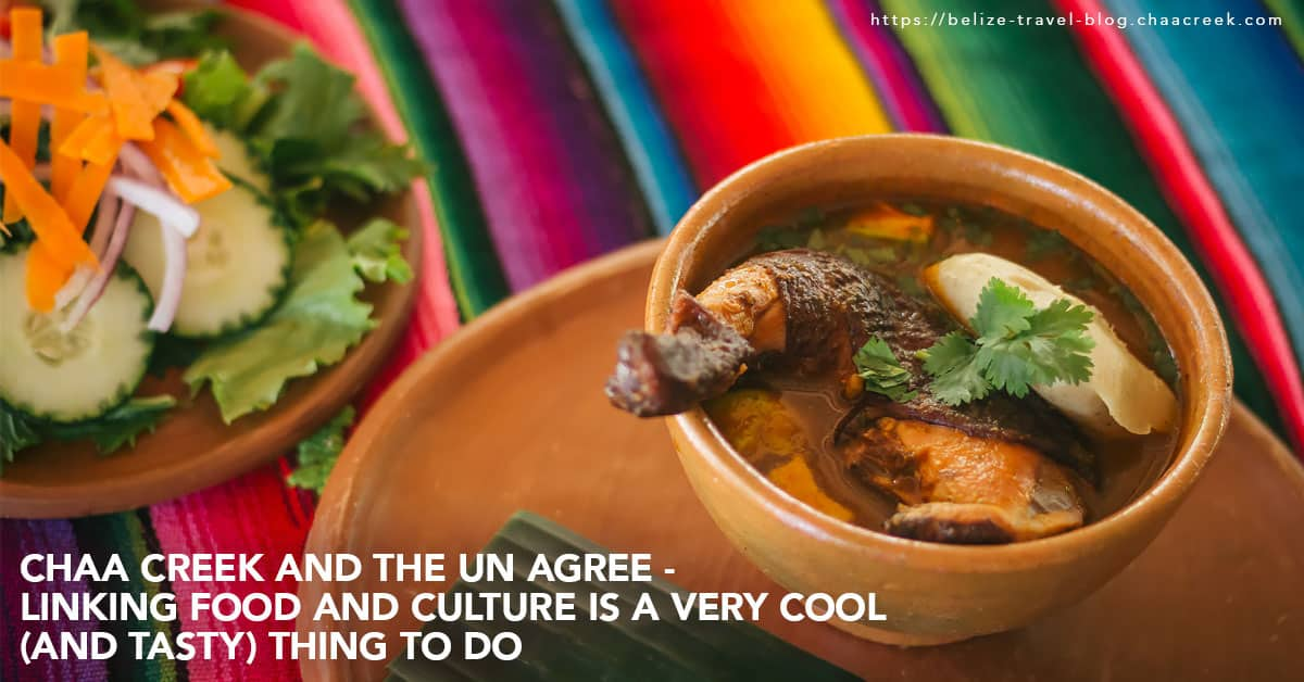 Belize UN link food culinary and culture as good thing