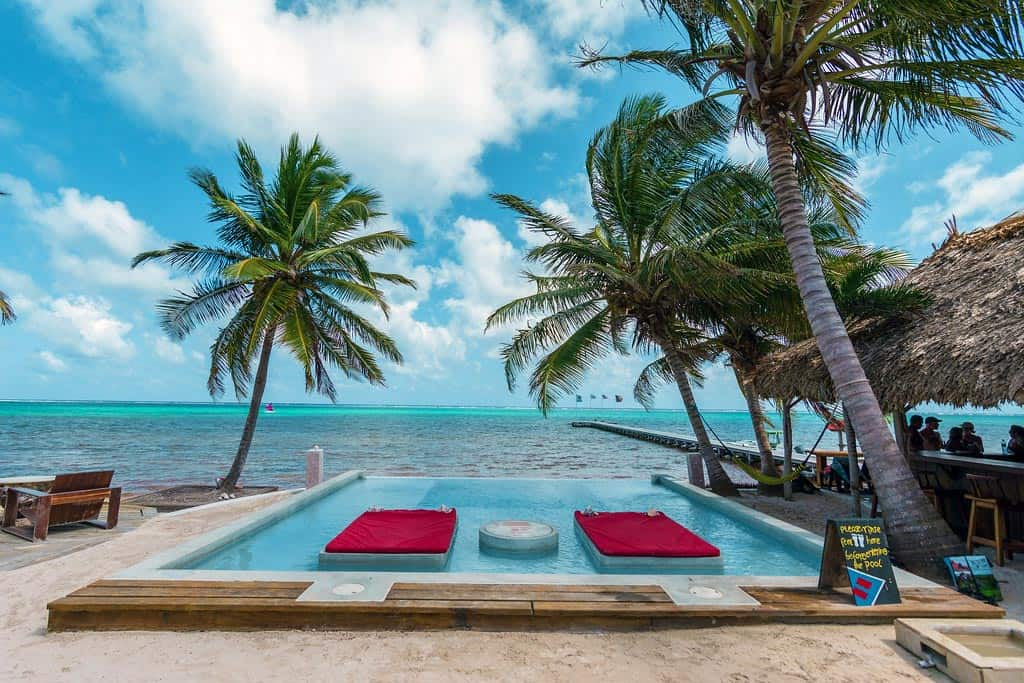 belize romantic getaways visit to beach rojo lounge
